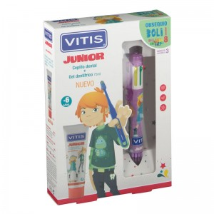 Vitis Junior Pack Gel Dentífrico + Cepillo Dental + Obsequio