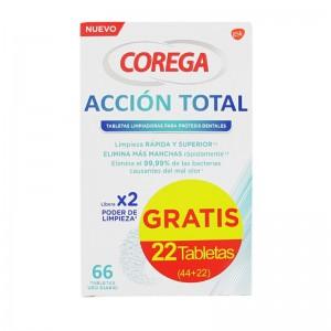 Corega Acción Total Tabletas Limpiadoras