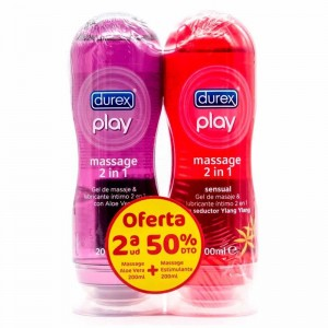Durex Play Duplo Massage Sensual + Aloe