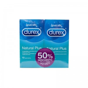 Durex Preservativos Natural Plus Duplo