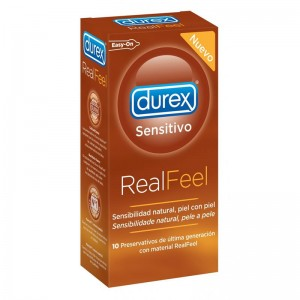 Durex Preservativos Real Feel