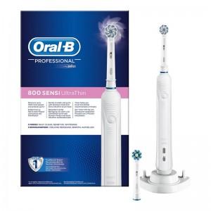 Oral-B Pro 800 Cepillo Dental Eléctrico Recargable Sensi Ultrathin