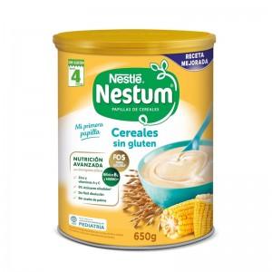 Papilla Nestlé Nestum Cereales sin gluten para bebés