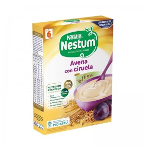 Papilla Nestlé Nestum Avena con Ciruela