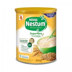 Papilla Nestlé Nestum Superfibra 5 Cereales