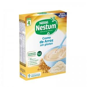 Papilla Nestlé Nestum Crema de Arroz Sin Gluten