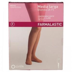 Farmalastic Media Larga Blonda Compresión Fuerte