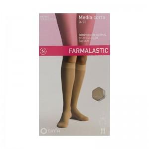 Farmalastic Media Corta Compresión Normal