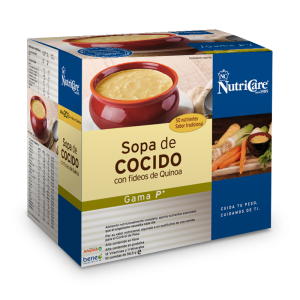 Nutricare Sopa de Cocido con Fideos de Quinoa