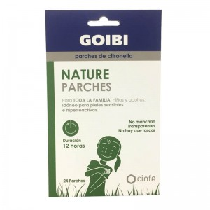 Goibi Antimosquitos Parches Citronella