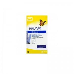 Freestyle Optium Tiras Reactivas Glucemia