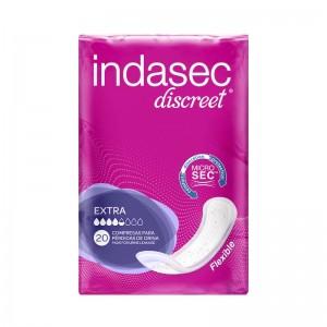 Indasec Discreet Extra Compresas Perdidas Leves