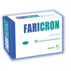 Faricrom 30 comprimidos