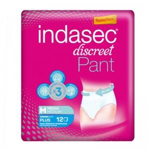 Indasec Pant Plus Absorbente Incontinencia Día Anatómico