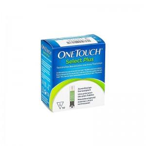 Tiras Reactivas Glucemia Onetouch Select