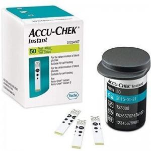 Tiras Reactivas de Glucemia Accuchek Instant 50u.