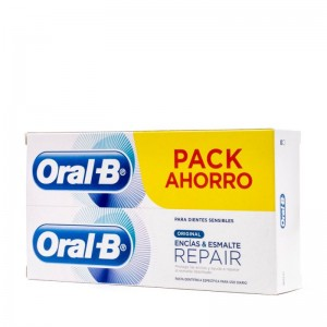 Oral-B Pasta Encías & Esmalte Repair Original 2X75ML