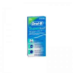 Oral-B Superfloss Seda Dental Mental 50U