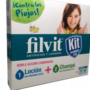 Filvit Kit Tratamiento Total Loción +Champú