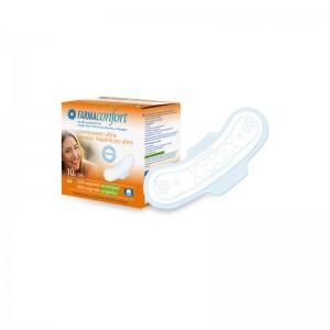 Compresas de algodón Ultrafinas con Alas Día Farmaconfort