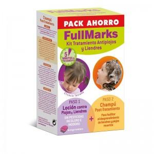 Fullmarks Pack Antipiojos y Liendre Champú+Loción