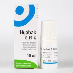 Hyabak 0.15% Solución Hidratante
