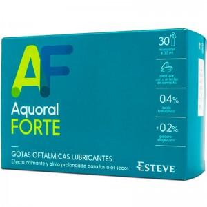 Aquoral Forte Gotas Oftálmicas Lubricantes 30 ud