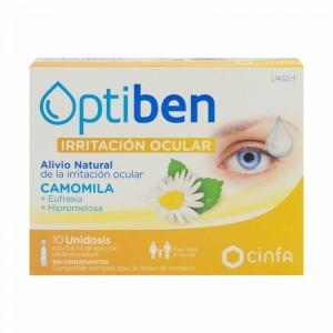 Optiben Ojos Irritados 10 monodosis