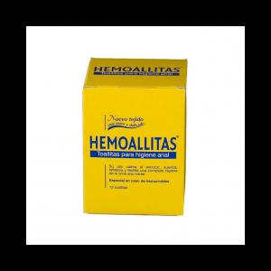 Hemoallitas Higiene Anal 15 unidades
