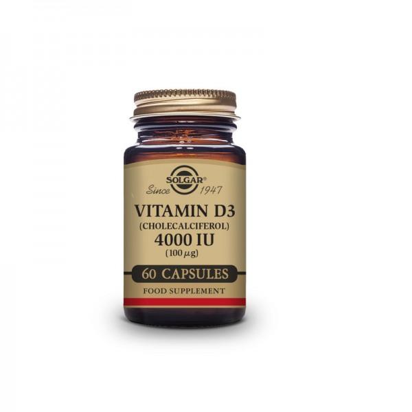 Solgar Vitamina D3 4.000 UI