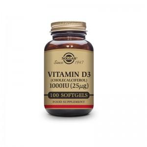 Solgar Vitamina D3 1000 UI