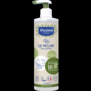 Mustela Agua Micelar Bio 400 ml