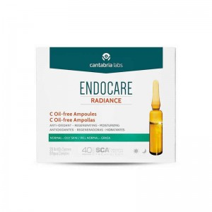 Endocare Radiance C Oil-free ampollas
