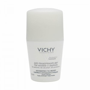 Vichy Desodorante Roll On 24H Sin Sales Sin Aluminio Piel Sensible