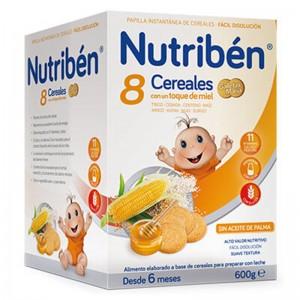 Nutribén 8 Cereales con un toque de Miel y Galletas María