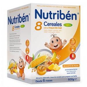 Nutribén 8 Cereales con un toque de Miel y 4 Frutas